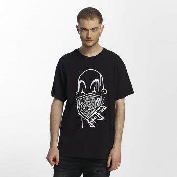 Joker t-shirt Clown Brand zwart