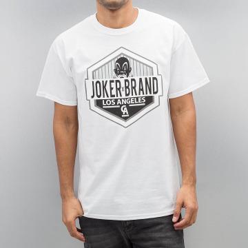 Joker T-Shirty LA CA bialy