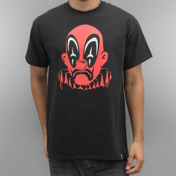 Joker T-Shirty Deadpool Clown czarny