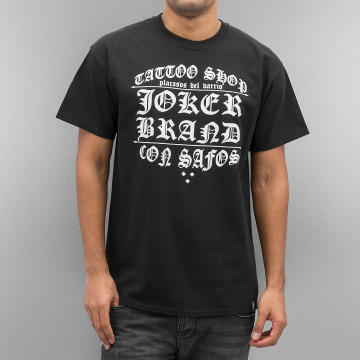 Joker T-Shirty Tattoo Shop czarny