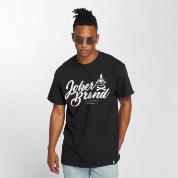 Joker T-Shirty Brand czarny
