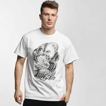 Joker T-skjorter Love hvit