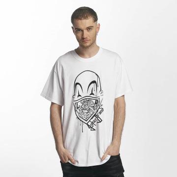 Joker T-skjorter Clown Brand hvit