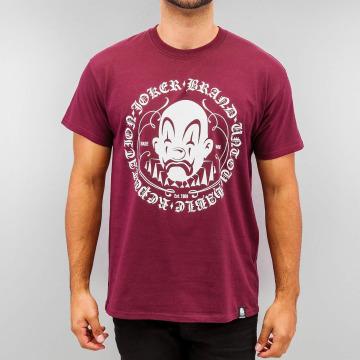 Joker T-skjorter Circle Clown red