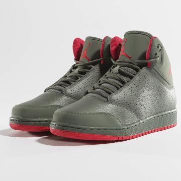 Jordan Сникеры 1 Flight 5 Premium (GS) серый