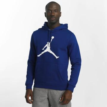 Jordan Толстовка Flight Fleece Jumpman Air синий