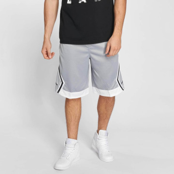 Jordan Шорты Rise Diamond Basketball серый