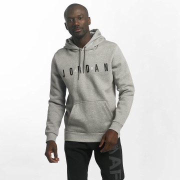 Jordan Hoodie Sportswear Flight Fleece Air gray