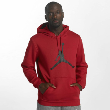 Jordan Hoodie Flight Fleece Jumpman Air red