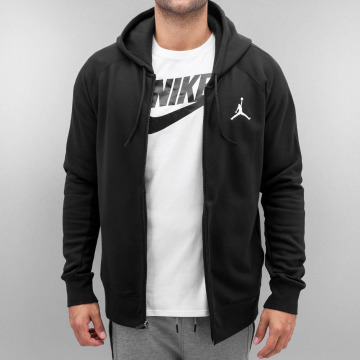 Jordan Hoodies con zip Flight nero