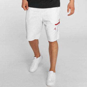 Jordan Shortsit Sportswear Jumpman Air Graphic Fleece valkoinen