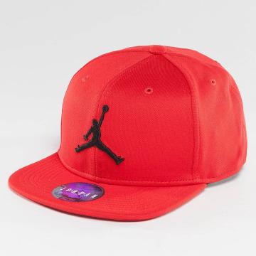 Jordan snapback cap Jumpman rood