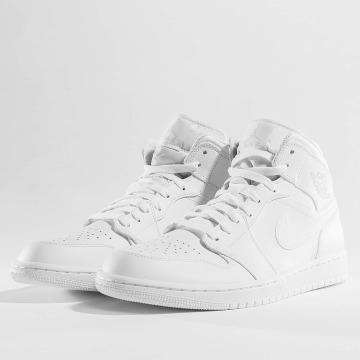 Jordan Sneaker 1 Mid bianco