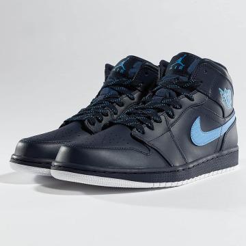 Jordan Sneaker 1 Mid blau