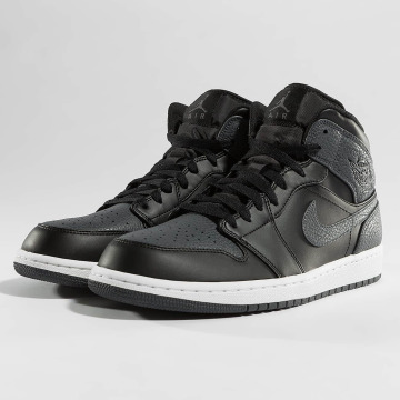 Jordan sneaker 1 Mid zwart