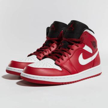 Jordan Sneakers 1 Mid röd