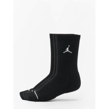 Jordan Sokken 3 Pack Cotton Crew zwart