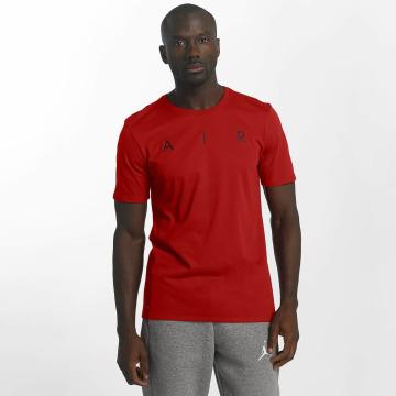 Jordan T-paidat Rise Photo Basketball punainen