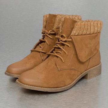 Jumex Enkellaarsje Wool bruin
