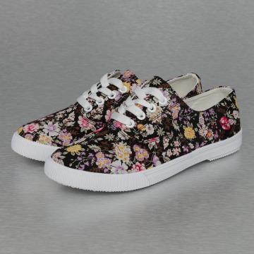 Jumex Sneakers Summer Flower Low svart