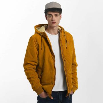 Just Rhyse Зимняя куртка Quilted коричневый