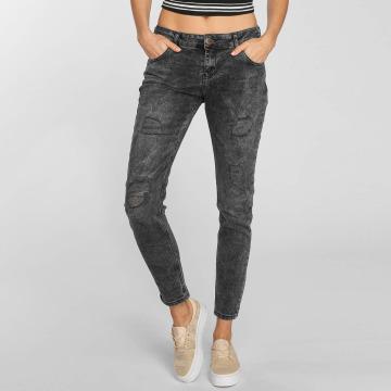 Just Rhyse Boyfriend jeans Bubbles grå