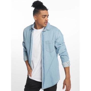 Just Rhyse Camisa Denim azul