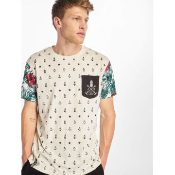 Just Rhyse Camiseta Paradise blanco