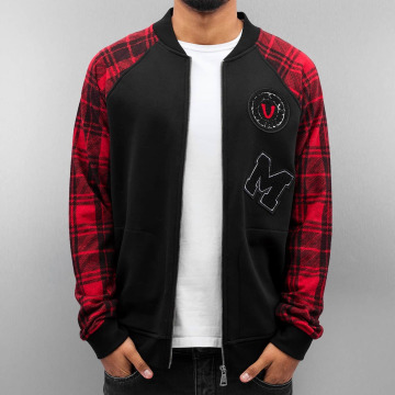 Just Rhyse College Jacket Patches black