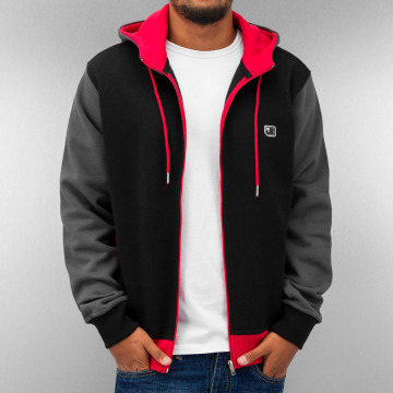 Just Rhyse Hoodies con zip Oxid nero