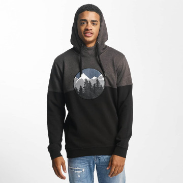 Just Rhyse Hoody Mountain schwarz