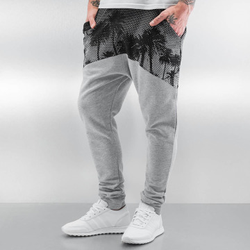 Just Rhyse joggingbroek Ekwok grijs