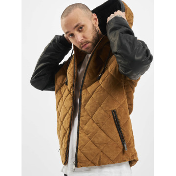 Just Rhyse Manteau hiver Quilted beige