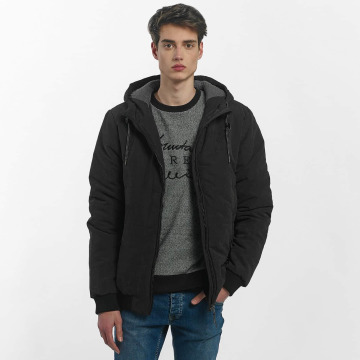 Just Rhyse Manteau hiver Quilted noir
