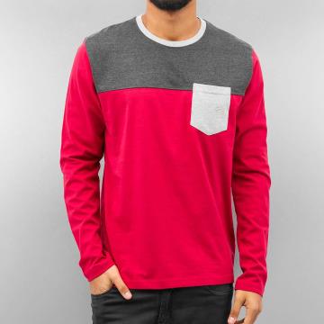 Just Rhyse Pitkähihaiset paidat 3 Tone punainen
