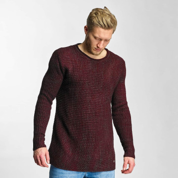 Just Rhyse Pullover Soft Knit rot