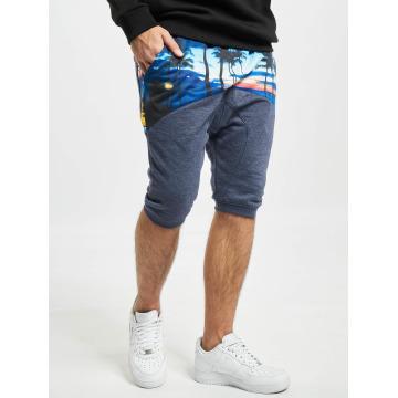 Just Rhyse shorts Palms blauw