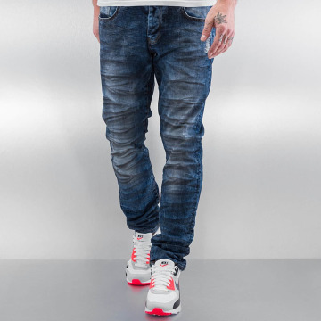 Just Rhyse Skinny Jeans Oil blau