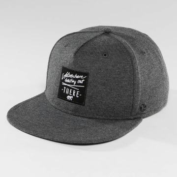 Just Rhyse Snapback Cap Whittier Starter Cap grey