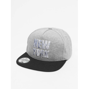 Just Rhyse snapback cap New York Style grijs