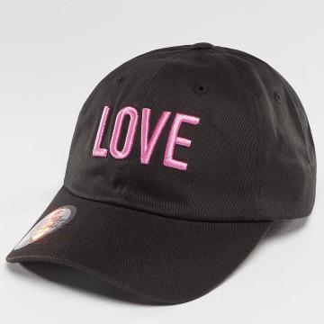 Just Rhyse Snapback Cap Love nero