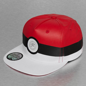 Just Rhyse Snapback Cap Fairhaven red
