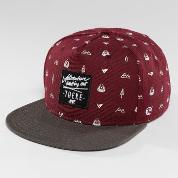 Just Rhyse Snapback Cap Nabesna Starter red