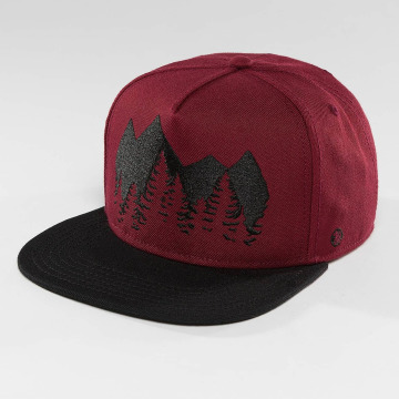 Just Rhyse Snapback Cap Malaspina Starter rosso