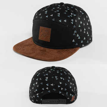 Just Rhyse Snapback Cap Happy Trees schwarz