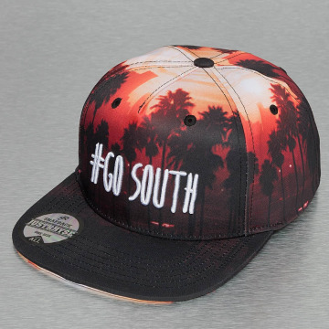 Just Rhyse Snapback Caps Go South čern