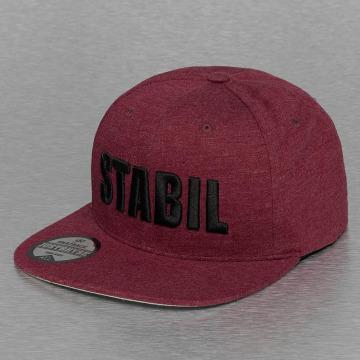 Just Rhyse Snapback Caps Stabil czerwony