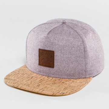 Just Rhyse Snapback Caps Wood Rhyser lilla