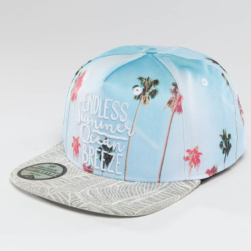 Just Rhyse Snapback Caps Santa Barbara niebieski
