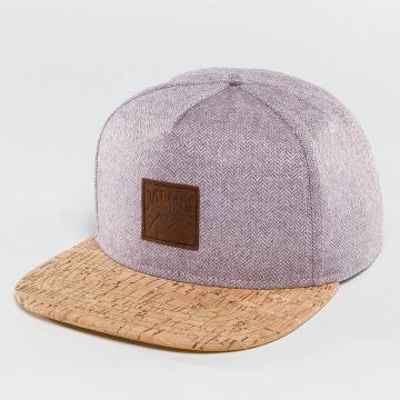 Just Rhyse Snapback Caps Wood Rhyser purpuranpunainen